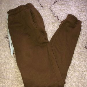 Forever 21 Brown Joggers